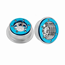 WLtoys 12428 12423 FY-03 02 01 Upgrade Metal Wheel Rims 1/12 2PCS RC Car Parts-