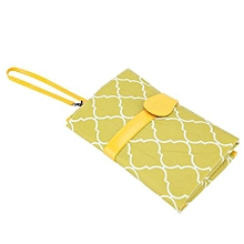 Portable Baby Diaper Changing Pad Travel Nappy Bag Green