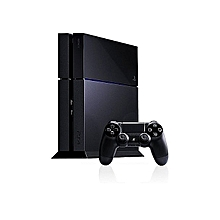 Play Station 4 -  500GB With 10 Games Console Black