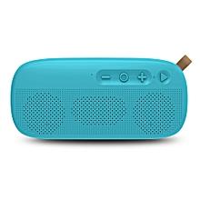 NR - 4012 Waterproof Wireless Bluetooth Speaker Stereo Sound Player-BLUE ZIRCON