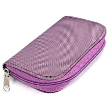 Freebang SDHC MMC CF Micro SD Memory Card Storage Carrying Pouch Case Holder Wallet Bag (Intl)