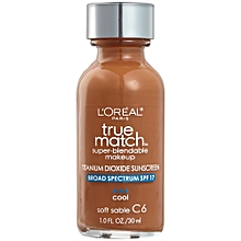 True Match Super - Blendable Makeup - Soft Sable - Cool C6- 30ML
