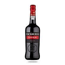 Cockburns Fine Ruby Port Wine - 1L