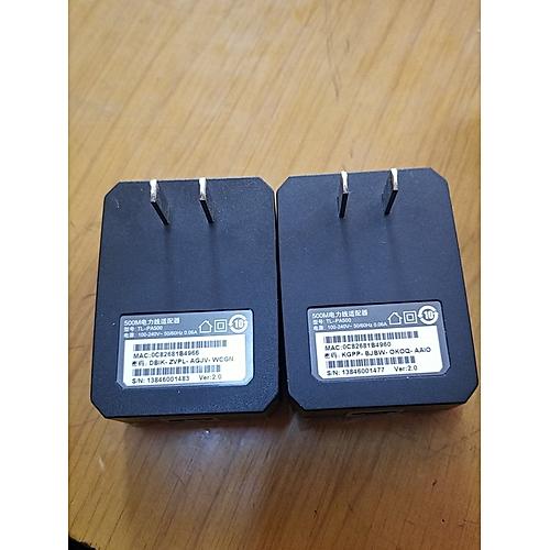 TP-LINK TL-PA500 500Mbps Powerline Adapter few scratches PA500 US plug AU  EU adaptor HomePlug Network AV500 for IPTV STB DVB PLC