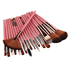 Eastman New 18 Pcs Makeup Brush Set Tools Make-up Toiletry Kit Wool Make Up
