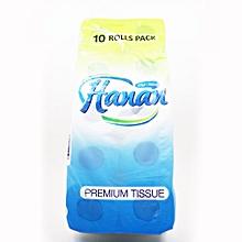 Toilet Paper Super Soft & Gentle Tissue 8 Rolls (200 sheets)