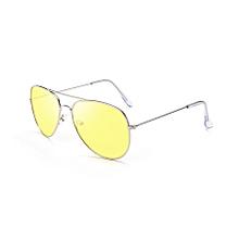 Ms Dazzle Colour Uv400 Stylish Polarized Sunglasses (transparent Yellow)