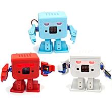 KittenBot® OTTO Robot 8-Way Servo DIY Kit Blue/Orange/White Color with Micro:bit Expansion Board Orange