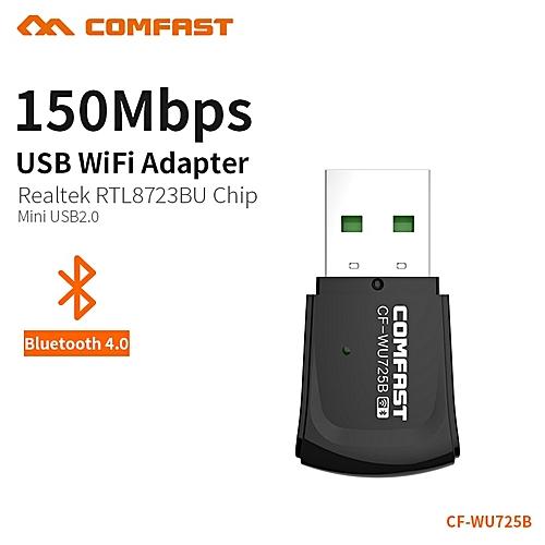 Mini Bluetooth Usb Wifi Adapter Wifi Dongle Pci-e Lan Network Card 2 4ghz  Antenna 150Mbs Wi-fi Receiver Soft Ap Function( )