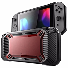 2018 Slim Rubberized Snap On Hard Case Cover For Nintendo Switch Red