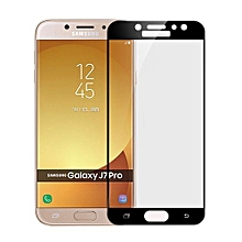 MOFi For Samsung Galaxy J7 Pro Full Screen 2.5D Explosion-proof 9H Surface Hardness Tempered Glass Screen Protector (Black)