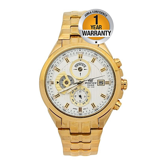 Casio White Dial With Gold Straps Watch Best Price Online Jumia