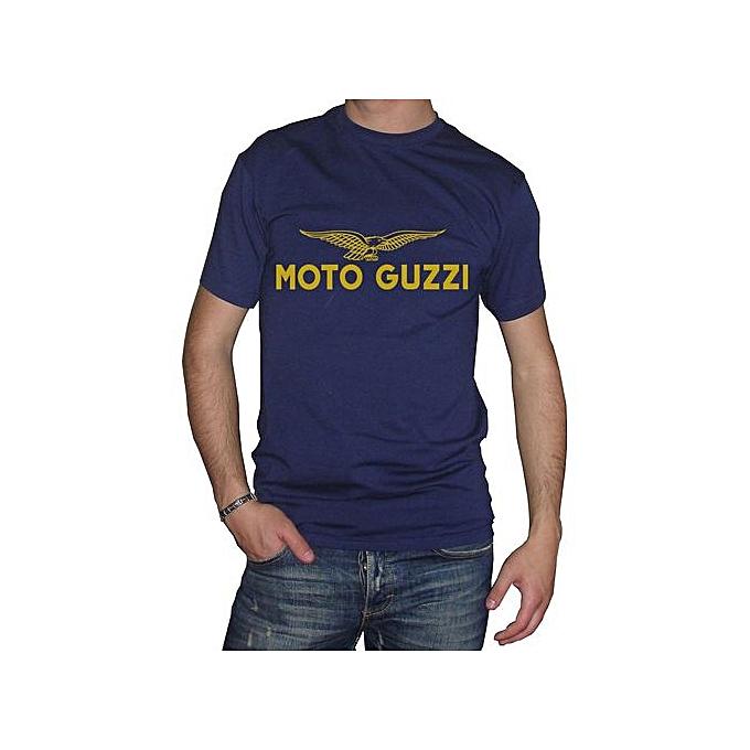 info for 9a0ea f408d High Quality Fm10 T-shirt Herren Moto Guzzi Geschenkidee Druck Gold Sport  Printed T Shirts Short Sleeve Funny Tee