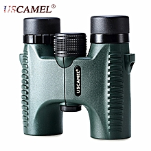 10X HD Binocular Mini Night Vision Telescope-ArmyGreen