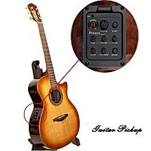 FISHMAN Presys 301 Mic Blend Dual Model Guitar Preamp EQ Tuner Piezo Pickup Beat