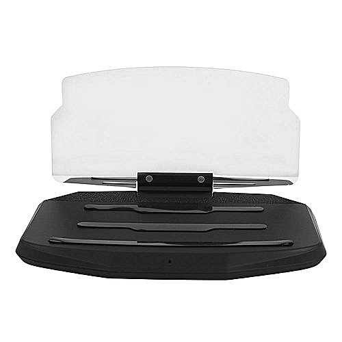 Phone HUD Stand Car GPS Holder Multi-Functional 5W Black Wireless Charger
