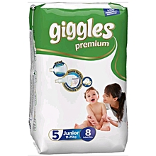 Baby Dry Diapers With Extra Protection (11-25 Kg) Size 5 (8 Count)