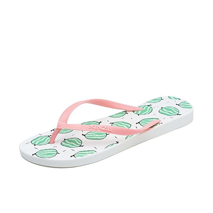 Buy Generic New Style Women Beach Flip Flops Cartoon Fruit Summer