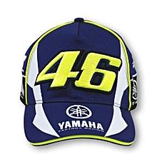 Men Yamaha Racing Cap  - Blue