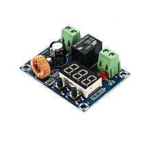 GB 12-36V Battery Cut off Disconnect Automatic Switch Recovery Protection Module-black