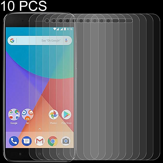 10 PCS 0 26mm 9H 2 5D Tempered Glass Film for Xiaomi Mi A1
