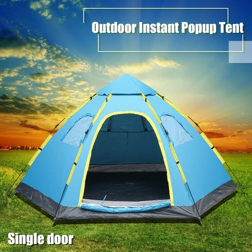 Generic 5-8 Person Family Auto Pop Up Tent Outdoor Hiking C&ing Beach Festival Shelter & Generic 5-8 Person Family Auto Pop Up Tent Outdoor Hiking Camping ...