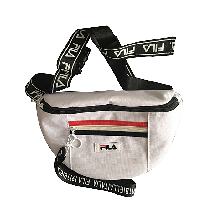 9e8bf73d8486 FILA Fashion Waist Bag All-match for Men and Women Couple Nylon Waist Bag