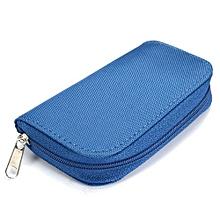 Freebang SDHC MMC CF Micro SD Memory Card Storage Carrying Pouch Case Holder Wallet Bag (Intl)