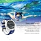 NO.1 F3 Sports Smartwatch Rotatable Dial Waterproof Watch Pedometer Watch