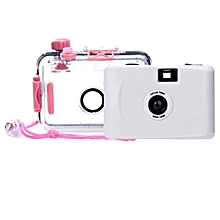Underwater Waterproof Mini 35mm Film Camera Purple WH-White