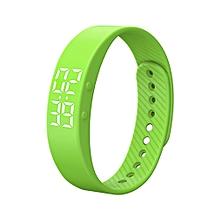 Sports IP67 Fitness Tracker Smart Bracelet w/ Alarm Clock - Green