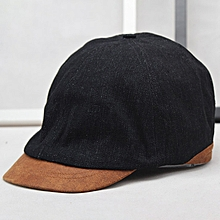Men Women Outdoor Casual Cotton Forward Beret Hat Breathable Trendy Visor Hat