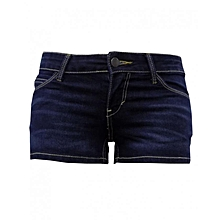 Shorty Short -Navy Blue Denim