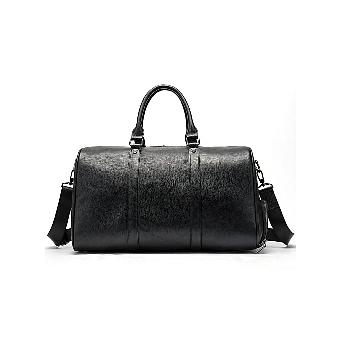 3d8b7cd5d098 WESTAL men business travel bags leather duffle bag luxury luggage weekend  tote suitcase waterproof men's leather overnight bags(8706A4black)