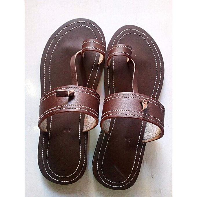 09cbe9171 Men s Sandals Casual Summer Slippers Shoes Men Leisure Rubber Platform  Sandals Beach Flip Flops For Men
