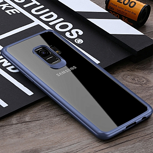 buy online c2719 a12a3 Samsung galaxy s9 Plus TPU+PC Fashion Luxury Transparent Back Ultra thin  Shockproof Case