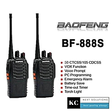 Baofeng BF-888S BF888 / BF 888S / BF888s Walkie Talkie Set 5KM 16 Channel Radio UHF 5W