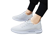 big sale 7b5d1 099ab Light Weight Sneakers Men Air Mesh Breathable White Men Trainers Sneaker  Hot Sale New Fashion Outdoor