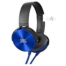 JBLXB 450 Extra BASS Headphones - BLUE