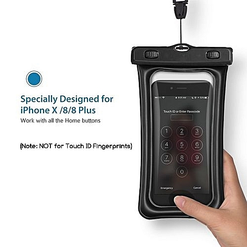 size 40 b1963 ab8f8 Waterproof Bag Universal Underwater For IPhone 6 6s 7 Plus 5 SE S7 S6 S5  Sealed Waterproof Case Pouch Phone Coque Covers Case(Black)