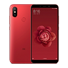 Xiaomi Mi 6X / A2, 4GB+64GB, Not Support Google Play, AI Dual Back Cameras, Fingerprint Identification, 5.99 inch MIUI 9.0 Qualcomm Snapdragon 660 Octa Core up to 2.2GHz, Network: 4G, VoLTE, Dual SIM(Red)