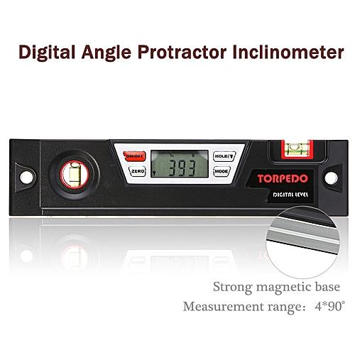 Digital Angle Finder Gauge Bevel Box Protractor Inclinometer Spirit Level  Tool