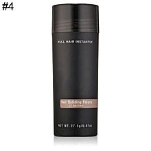 Unisex Hair Building Fibers 9 Colors Hair Loss Solutions Full Hair Powder 27.5g-4#
