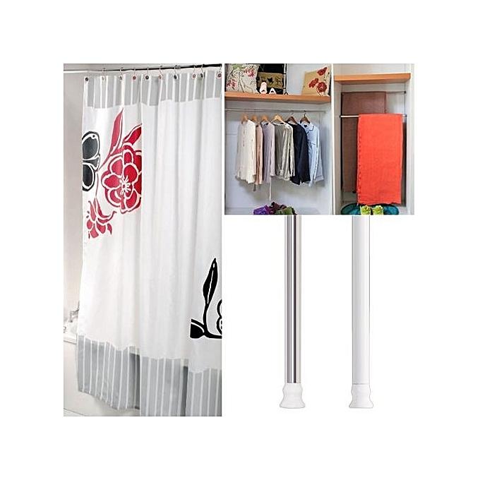 Buy Generic JC207S Aluminium Alloy Retractable Shower Curtain Rod ...