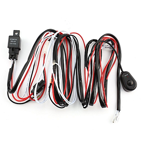 buy allwin one to two led light bar wiring harness push button one to two led light bar wiring harness push button switch kits 12v 40a