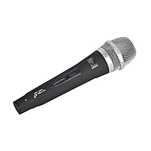 Himax Wired Microphone Karaoke Dual Channel Transmitter System-black
