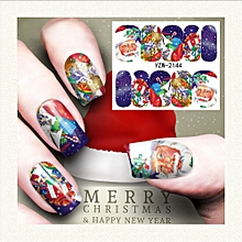 Nail Art Stamper Gel Tips DIY Stamping Drawing Image Template Stickers P