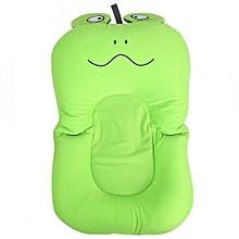 Foldable Non Slip Cute Frog Baby Bath Mat Soft Bathing Cushion Toddler Bathtub Safety Pad #1