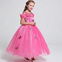 71cd9177e65 Refined Girl  039 s Dresses Cinderella Princess Dress Frozen Girl Dress  Deluxe Edition Aisha