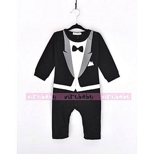 daa6de6f9 Generic New Style Child Suits Cotton Jumpsuit Rompers Newborn Baby ...